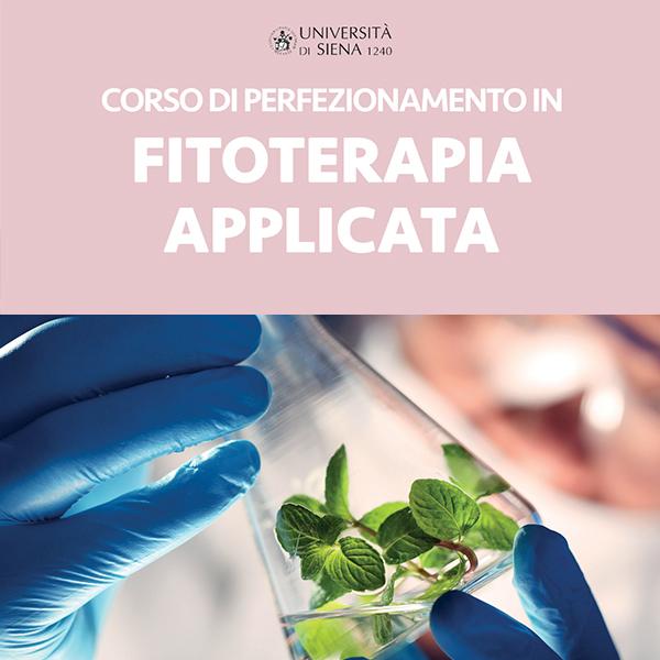 Corso di Perfezionamento in Fitoterapia Applicata UniSi 2018