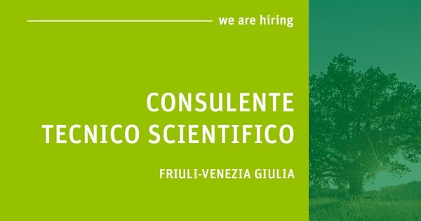 Offerta di lavoro per Consulente Tecnico Scientifico FVG