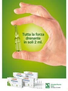 Anteprima brochure FITODrena: Tutta la forza drenante in soli 2 ml