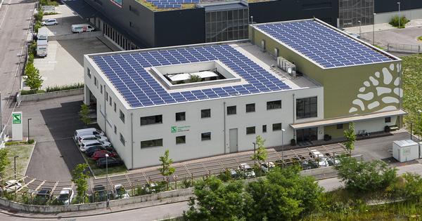 Uffici sede di Egna di Schwabe Pharma Italia