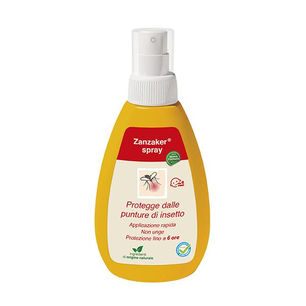 zanzaker spray antizanzare contro le punture di zanzara