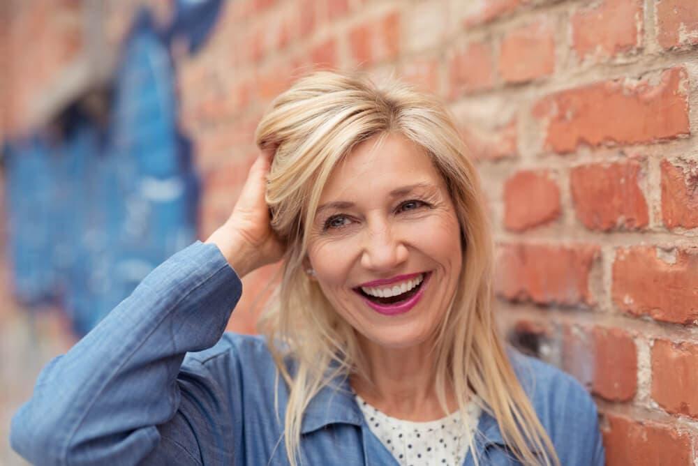 perdita capelli in menopausa